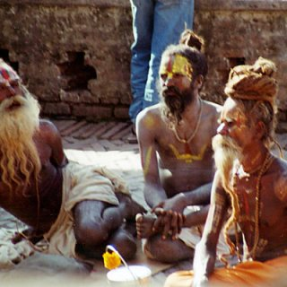 For some sadhu , the life is some thing so simple , and easy .