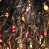 4-month old dreads detail