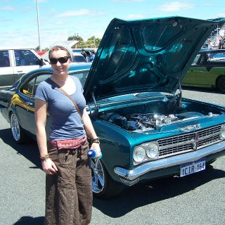 haha I wish : ) Can't beat the Holden Monaro