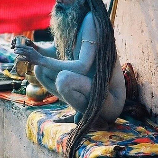 sadhhu (long sacred locks)