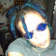 blue dreadies