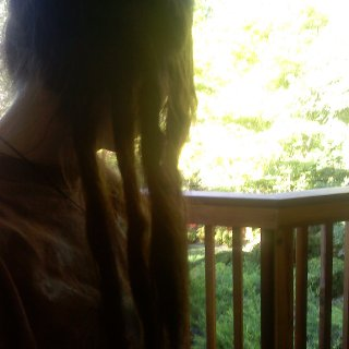 four days oldfour dreads on the bottom right side