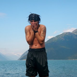 75 outside in Haines,Ak 30 in the water