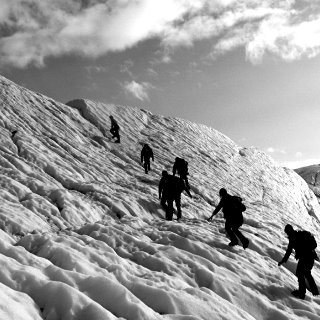 going ice climbing