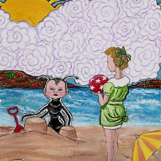 Antboy on the Beach