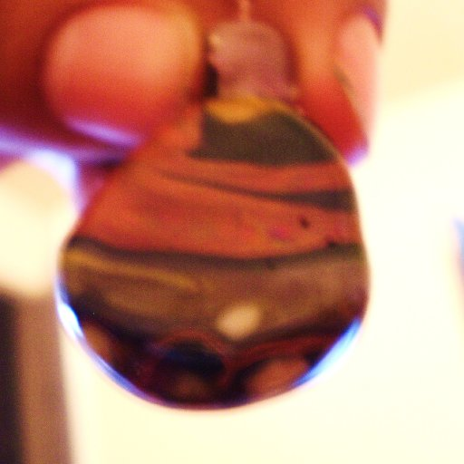 another glass pendent i made
