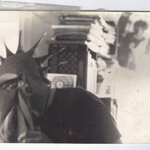 Jason at my pad in 1989