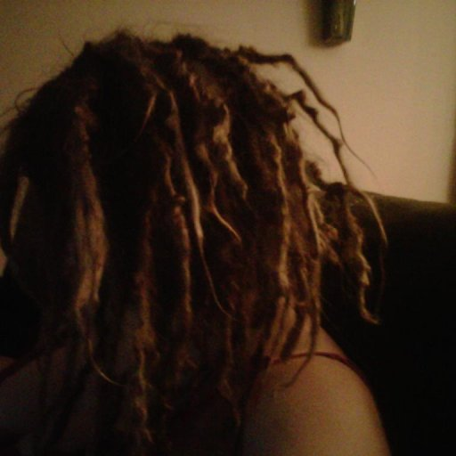 left side dreads 4 months