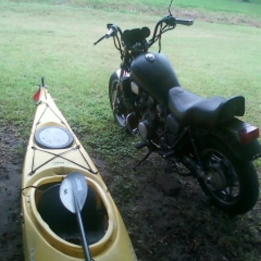 my bike and boat :)