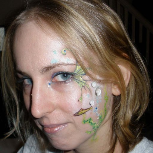 Pre-Dreads Face Painting