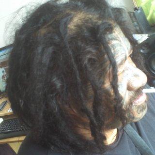 eleven mths o naturaelle strait hair dread !!!!!!