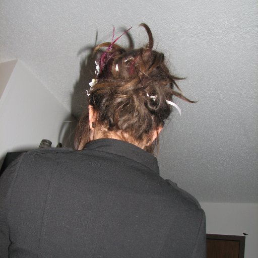 My typical updo