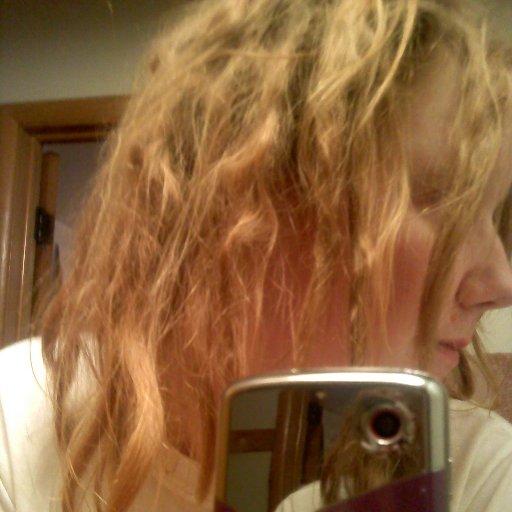 before I henna-ed my dreads