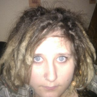 I'm trying to embrace my hair down cause so far i've done a lot of up do's and didn't know if I could pull of dreads down