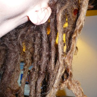 natural dreads are coming along beautifully! love them so much
