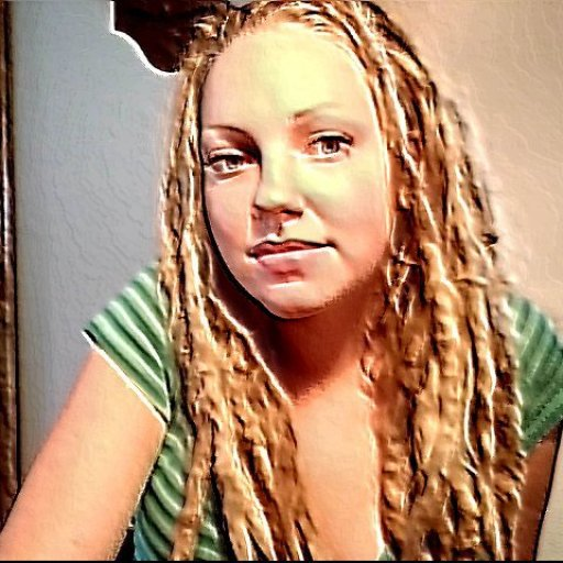 i hardly wear my hair down