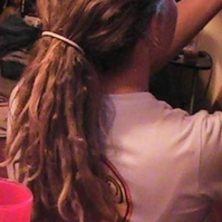 (i didnt dread my hair all at once...after a while they start to dread themselves)