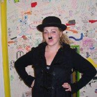 i was charlie chaplin !!!
