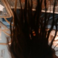 the roots of her hair, were that of a tree. uncontrollable and taken over by nature