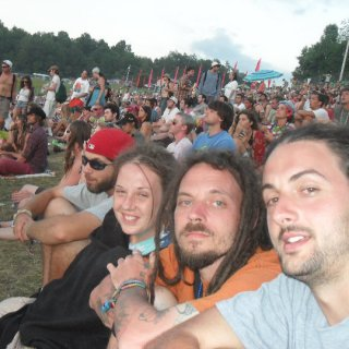 andy, dawna , me and ian