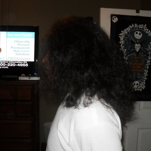 the side  (before dreads)
