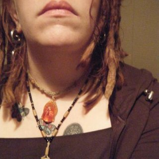 my dreads are two & a half years old <3