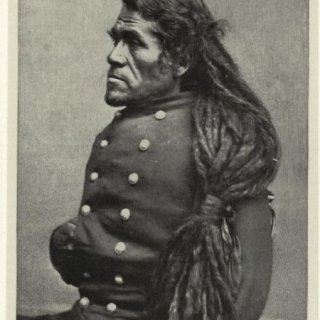 indian chief with dreadlocks
