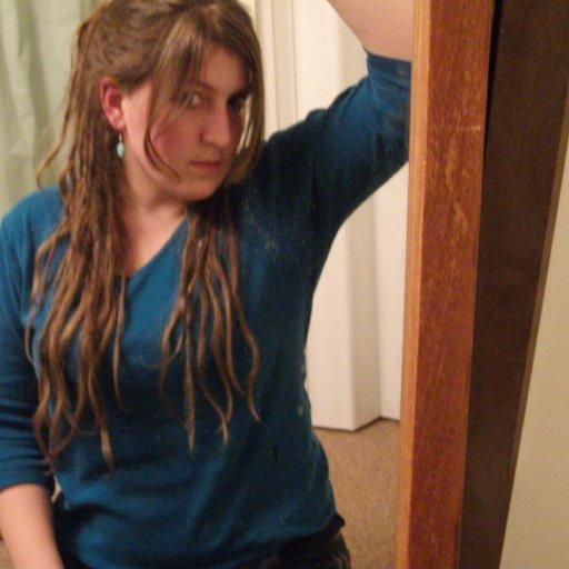 Me and my baby dreads 3!