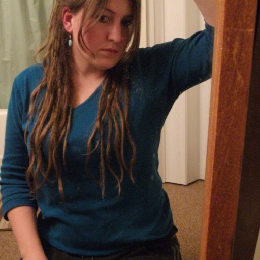 Me and my baby dreads 2