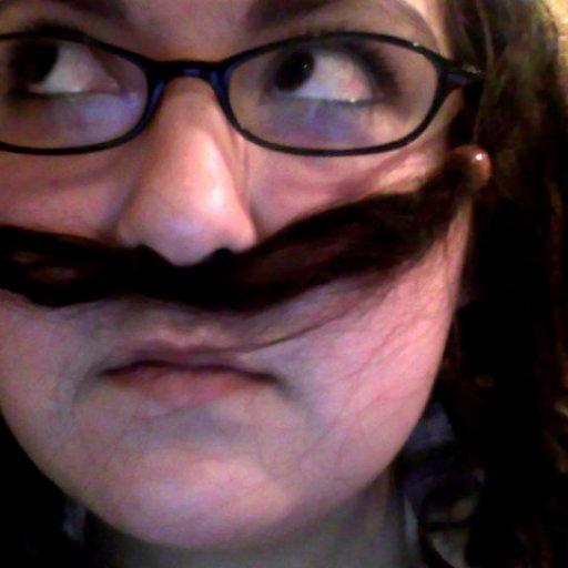 mustache hehe