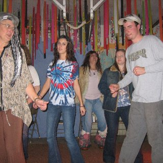 cool hippies!