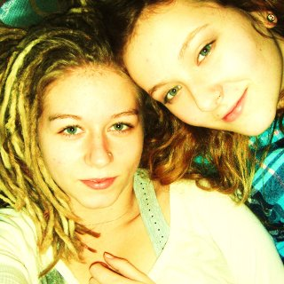 This is me nd my best friend Lizzie :)