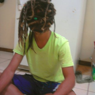 Playing around with my Dreads :P!