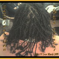 Dreads Starts March 2009