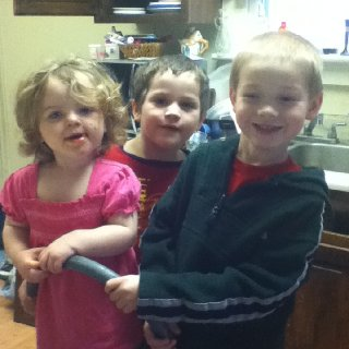 3 of the 4 munchkins!
