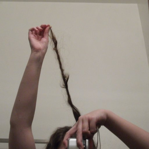 Dreadlock getting loopy