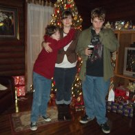 me and my sons doing the christmas thing