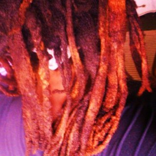 This is the back of my dreaded head taken last year. I love feeling them on my back.