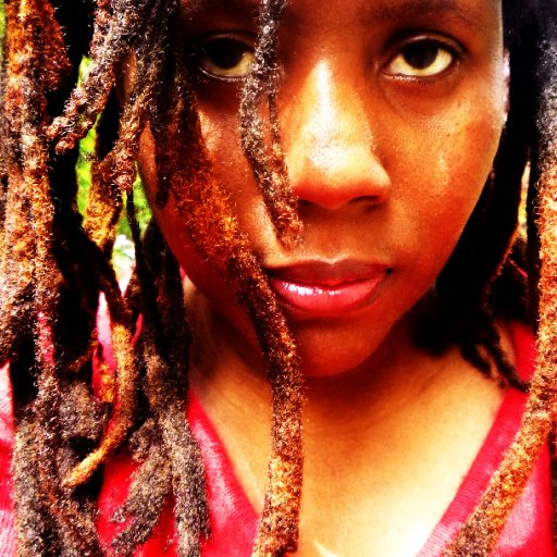 Dreads Almond Blossom And Magenta Sweater