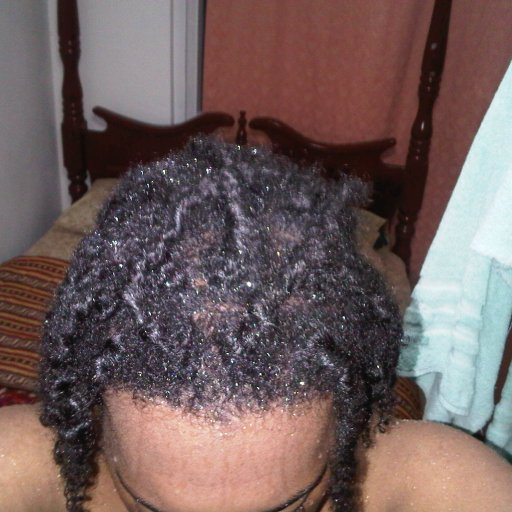 washed the dreads wit bs and aloe