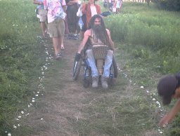 disabled and dreadlocked