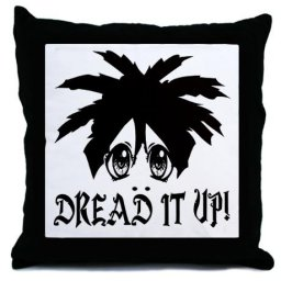 Dreadlock pillows