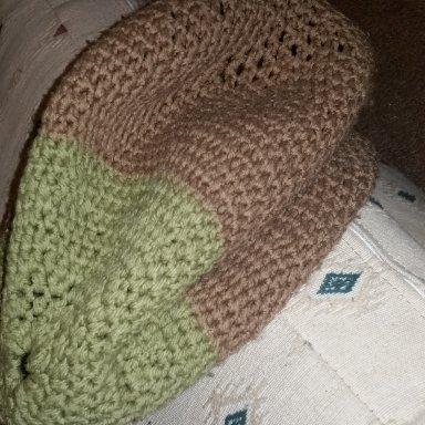 Hand-made Crochet Berret