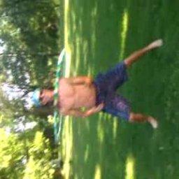 Josh trying to hula hoop