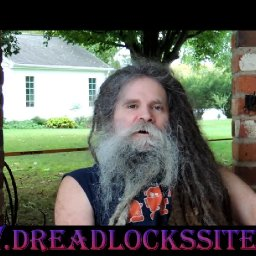 25 year old dreadlocks 10 foot long dreads